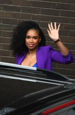 Jennifer Hudson Spotted At The ITV Studios in London