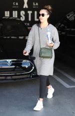 Jessica Alba At the gym in LA