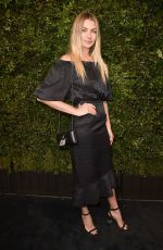 Jessica Hart At Charles Finch And Chanel Pre-Oscar Awards Dinner in Beverly Hills