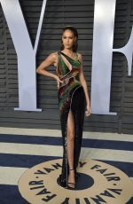 Joan Smalls At 2018 Vanity Fair Oscar Party at the Wallis Annenberg Center for the Performing Arts in Los Angeles