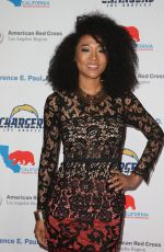 Judith Hill At Red Cross Los Angeles 2nd Annual Humanitarian Awards ceremony in Los Angeles
