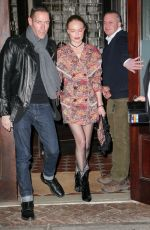 Kate Bosworth and Michael Polish seen holding hands while heading out in New York City