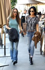 Kate del Castillo Out for lunch with a friend in Beverly Hills