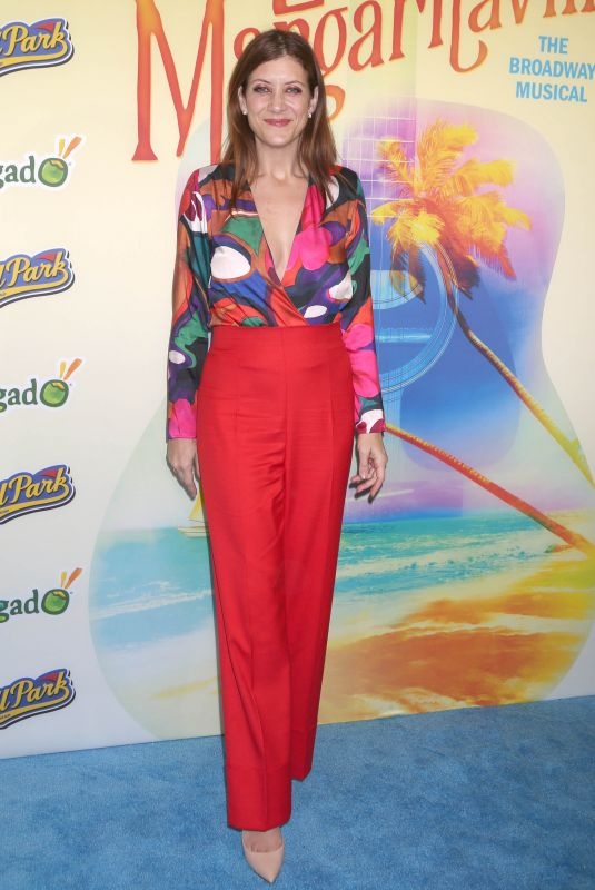 Kate Walsh At Opening night for Escape to Margaritaville at the Marquis Theatre in New York