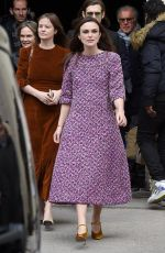 Keira Knightley At the Chanel Paris Fashion Week in France