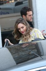 Kelly Brook Leaving the ITV Studios after she had presented on the Loose Women show panel In London