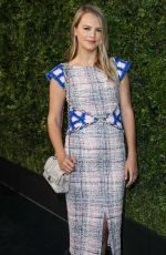 Kelly Sawyer At Chanel and Charles Finch Pre-Oscar dinner, Los Angeles