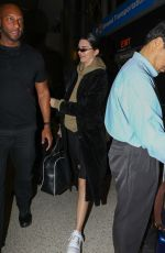 Kendall Jenner Ahead of a flight out of Los Angeles at LAX