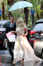 Kim Zolciak Biermann and daughter Brielle Biermann leave a baby shower in Los Angeles