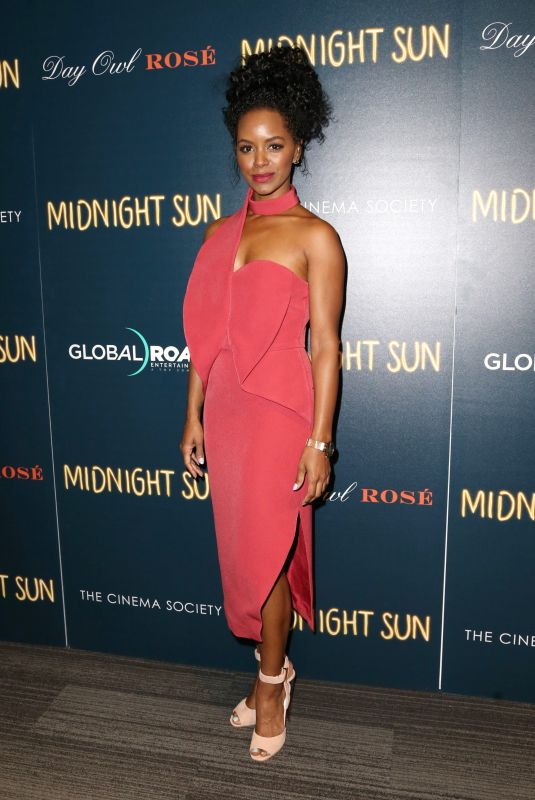 Krystal Joy Brown At The Cinema Society & Day Owl Rose host a screening of Global Road Entertainment