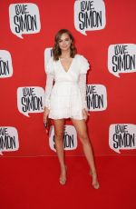 Ksenija Lukich At Love, Simon Premiere in Sydney