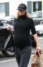 Kym Johnson Stops for some groceries at Bristol Farms in Beverly Hills