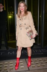 Laura Pradelska Seen at Rochelle for New Look Launch Party at the St Martins Lane Hotel, London