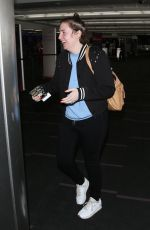 Lena Dunham Seen at the LAX airport in Los Angeles
