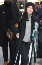 Lena Hall Attends Build Studios in New York City