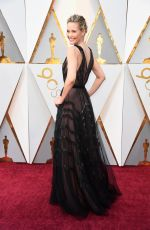 Leslie Bibb At 90th Annual Academy Awards in Hollywood