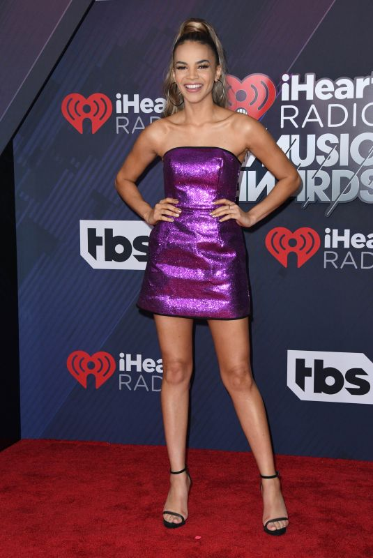 Leslie Grace At iHeartRadio Music Awards, Los Angeles
