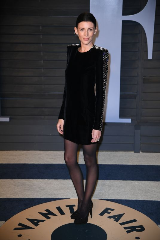Liberty Ross At 2018 Vanity Fair Oscar Party hosted by Radhika Jones at Annenberg Center for the Performing Arts in Beverly Hills