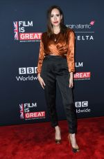 Louise Roe At Great British Film Reception honoring the British nominees of The 90th Annual Academy Awards at The British Residence in Los Angeles