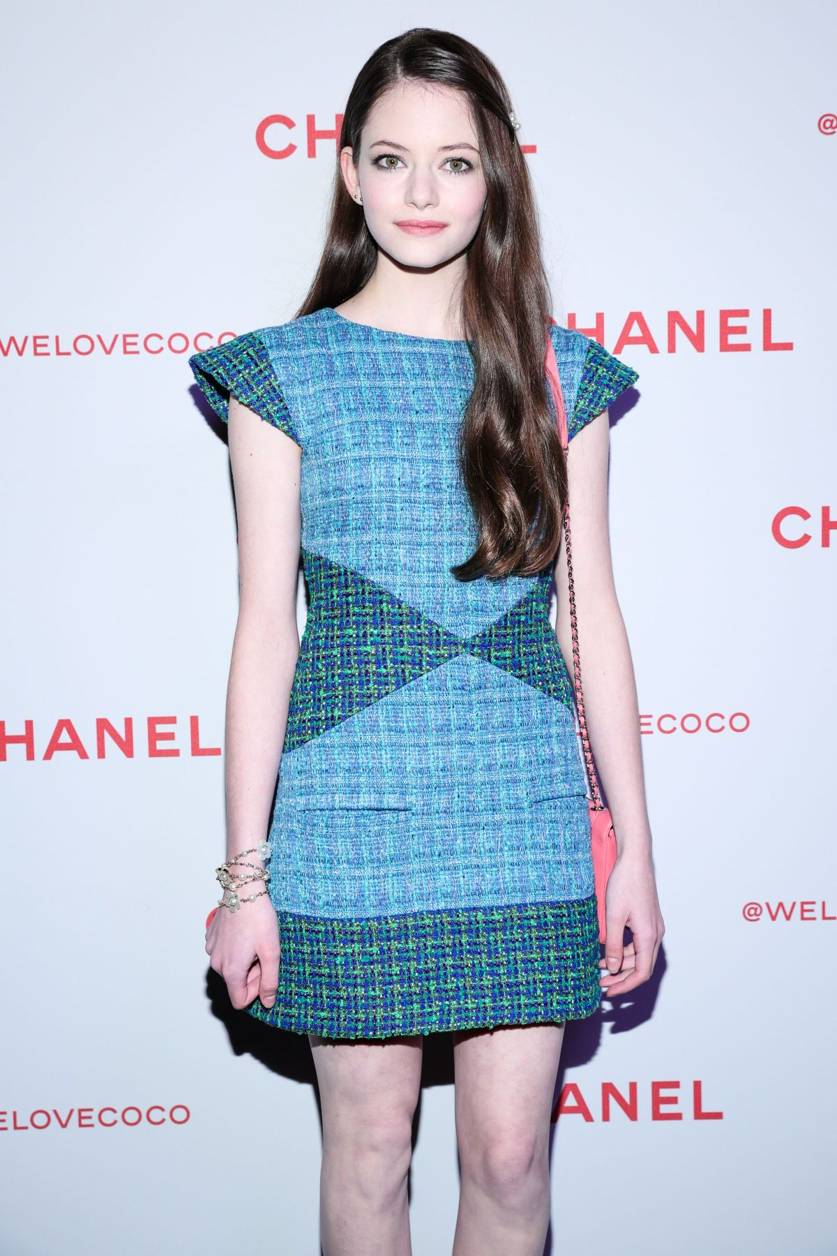Mackenzie Foy At Chanel Party to celebrate the Chanel Beauty House ...