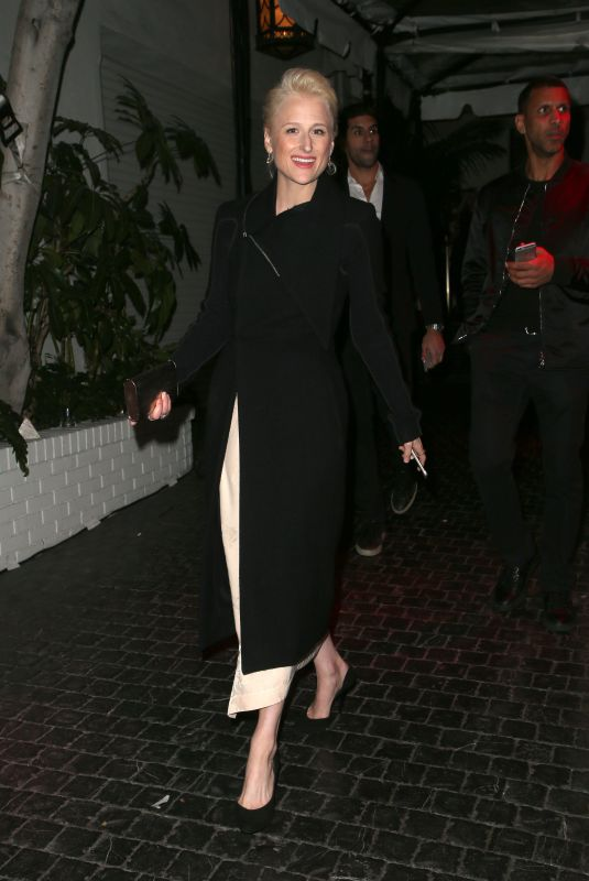 Mamie Gummer Seen outside the Chateau Marmont in West Hollywood