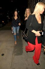 Mara Teigen Arrives at Craig
