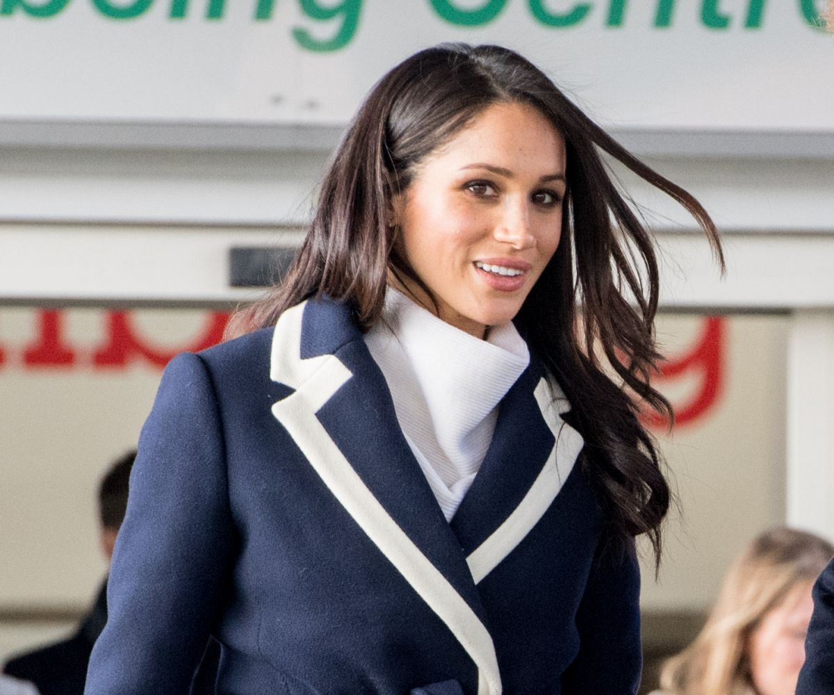Meghan Markle Taking Part In A Training Masterclass At