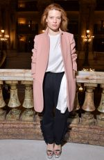 Melanie Thierry At Stella McCartney show, Fall Winter 2018, Paris Fashion Week, France