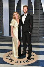 Miley Cyrus At 2018 Vanity Fair Oscar Party in Beverly Hills