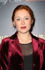 Mina Sundwall At The Cinema Society & Day Owl Rose host a screening of Global Road Entertainment