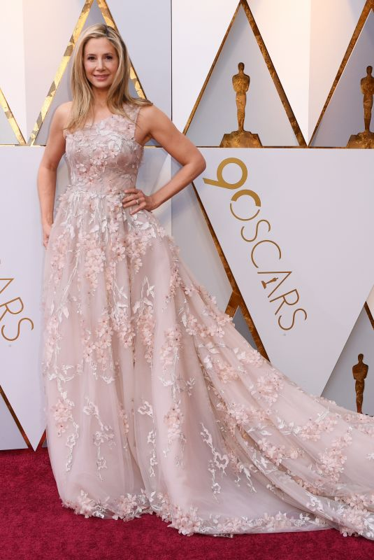 Mira Sorvino At The 90th Annual Academy Awards in LA