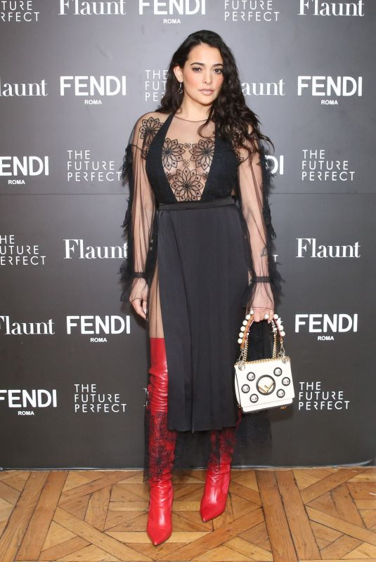 Natalie Martinez At Fendi X Flaunt celebrate the New Fantasy Issue in Los Angeles