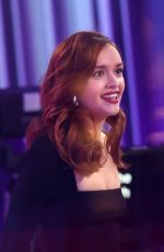 Olivia Cooke On the topical BBC chat show The One Show at BBC Broadcasting House in London