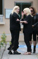 Pamela Bach and daughter Hayley Hasselhoff share a warm embrace in Los Angeles