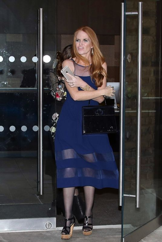 Patsy Palmer and her daughter Emilia pictured leaving the ...