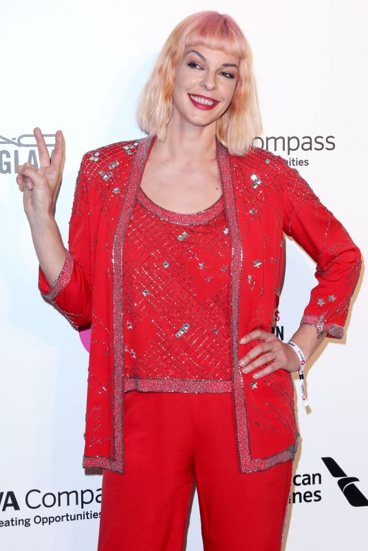 Pollyanna McIntosh At Elton John AIDS Foundation Academy Awards Viewing Party, Los Angeles