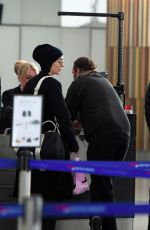 Rooney Mara Gets caught up in travel delays at Heathrow airport - London