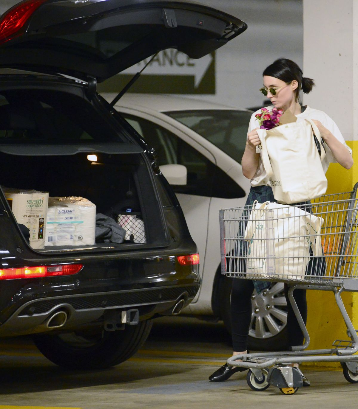 Grocery Stores Los Angeles: Rooney Mara Is Spotted Grocery Shopping At A Health Food