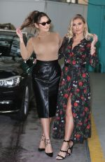 Sam Faiers and Billie Faiers outside ITV Studios in London