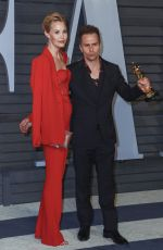 Sam Rockwell & Leslie Bibb At 2018 Vanity Fair Oscar Party at the Wallis Annenberg Center for the Performing Arts in Los Angeles