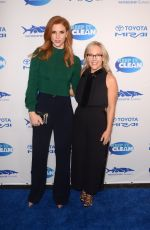 Sarah Rafferty At Keep It Clean Love Comedy Benefit for Waterkeepers Alliance, Avalon, Los Angeles