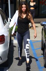 Selena Gomez Arrives to a studio in Los Angeles