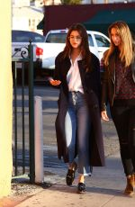 Selena Gomez Out for dinner in Los Angeles