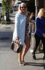 Sophia Vegas Wollersheim Looks stylish while out for lunch at Il Pastaio in Beverly Hills