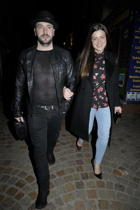 Sophie Austin At Night Out in Blackpool