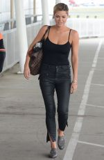 Sophie Monk Has a quick smoke and a chat before jetting out of Sydney