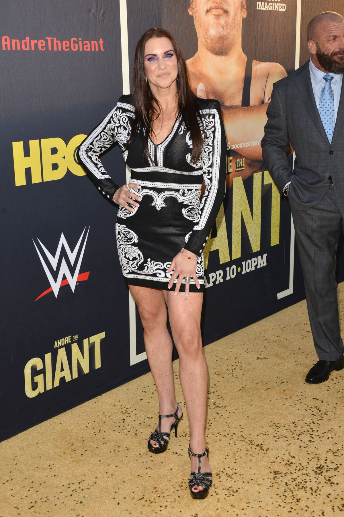 Stephanie Mcmahon At Andre The Giant Premiere In Hollywood Celebzz