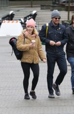 Stephen Amell and Emily Bett Rickards Attends the Vancouver March for Our Lives rally
