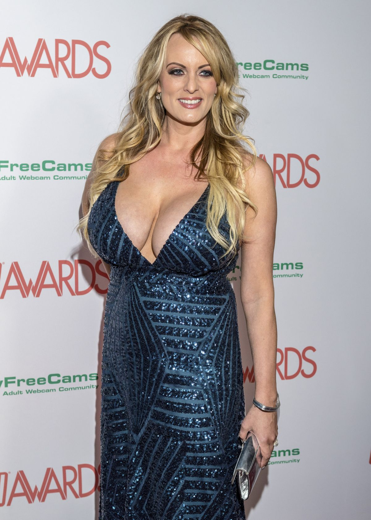 Stormy Daniels Aka Stephanie Clifford 2018 AVN Awards Hard Rock Hotel Las Vegas