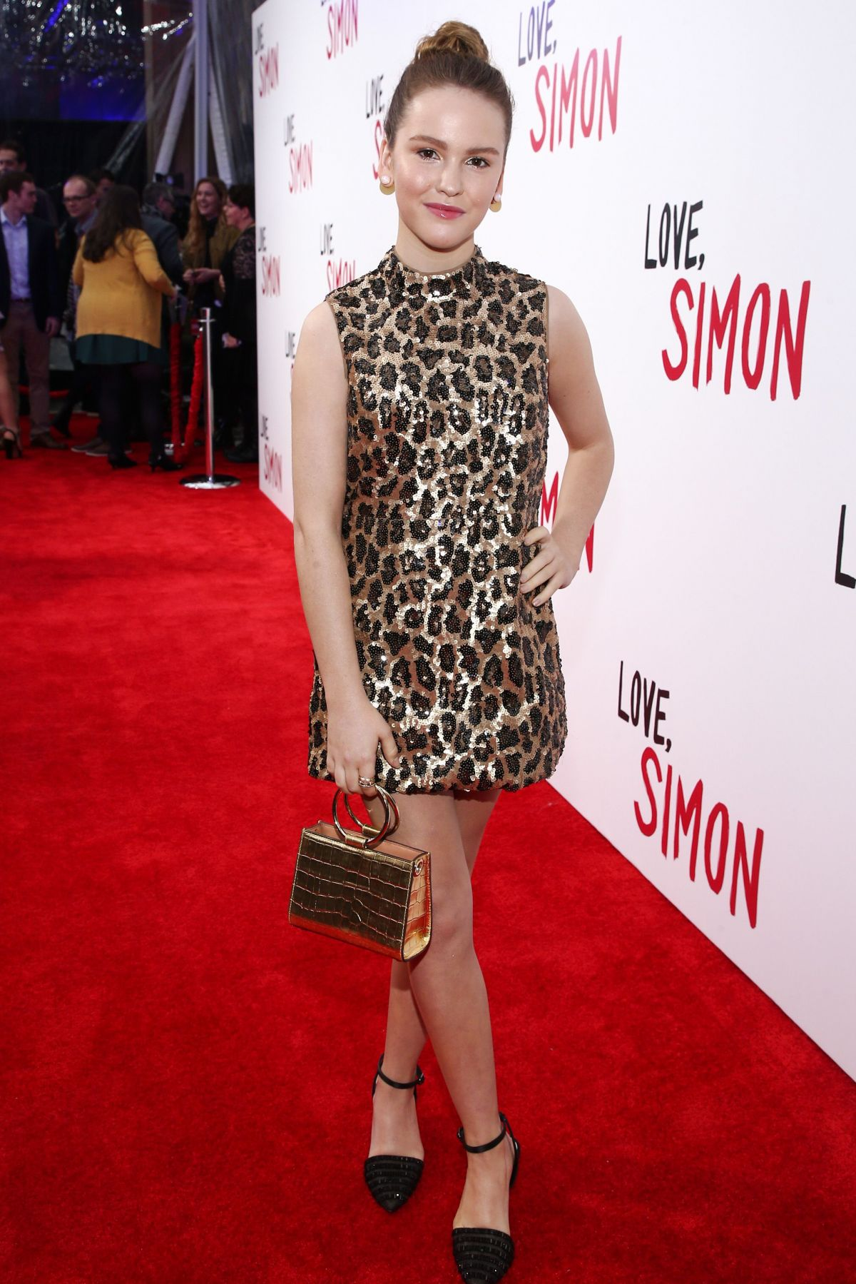 Talitha Bateman at Love Simon premiere